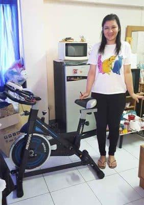 รีวิว จักรยาน Spin Bike รุ่น HAWK