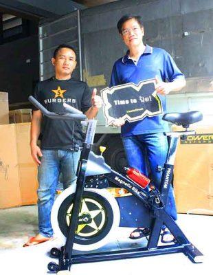 รีวิว จักรยาน Spin Bike รุ่น PHANTOM