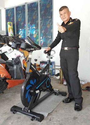 รีวิว จักรยาน Spin Bike รุ่น COSMO