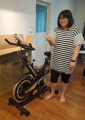 รีวิว จักรยาน Spin Bike รุ่น EAGLE