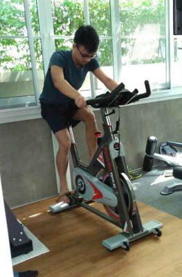 รีวิว จักรยาน Spin Bike รุ่น POWER BIKE
